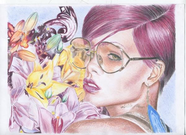 Rihanna by orelyw
